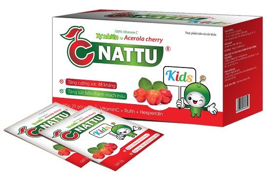 3. Cnattu kids – công thức đột phá từ Rutin và Vitamin C tự nhiên 1