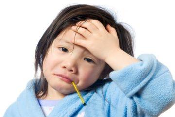Tăng sức đề kháng cho trẻ bị sốt phát ban