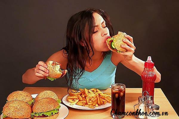 Chế độ ăn uống không lành mạnh 1