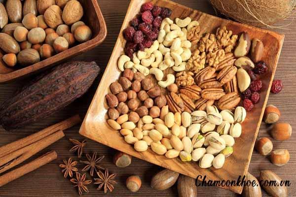 Các loại hạt khô 1