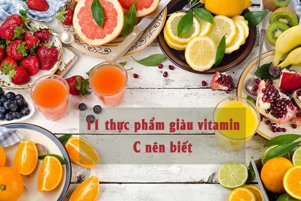 11 loại thực phẩm giàu vitamin C bạn nên biết 1
