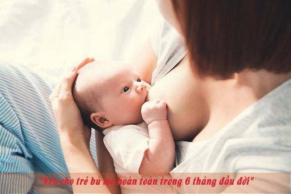 Cho trẻ bú mẹ nâng cao sức đề kháng 1