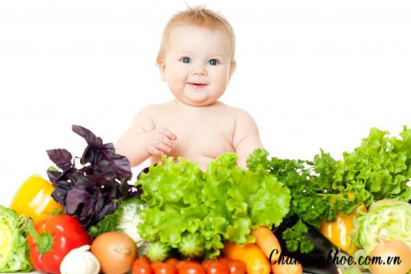 Chế độ dinh dưỡng cho bé 1