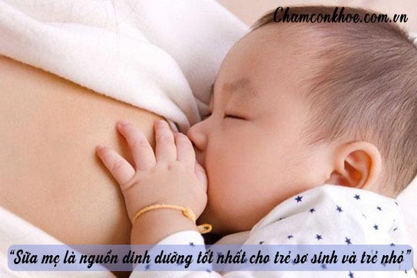 Tăng cường sức đề kháng cho trẻ từ chính nguồn sữa mẹ 1