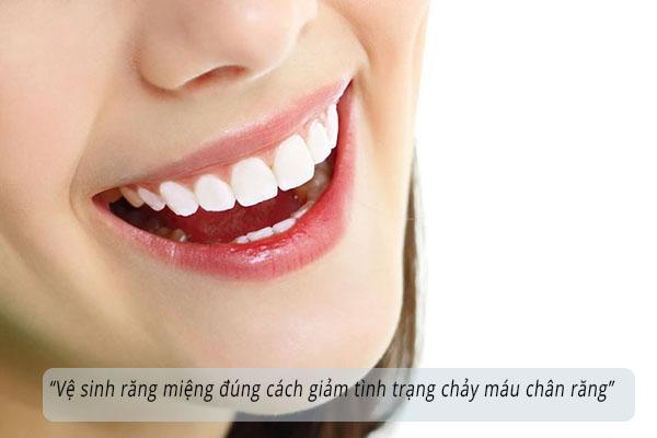 Vệ sinh răng miệng đúng cách 1