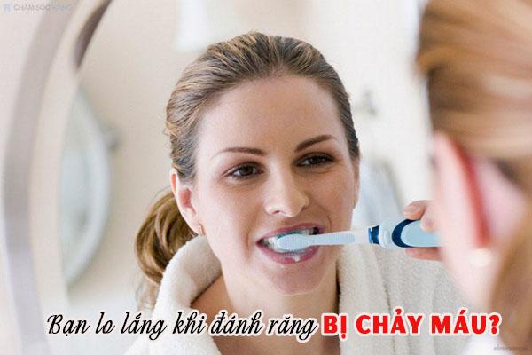 Chảy máu chân răng khi đánh răng do đâu? 1