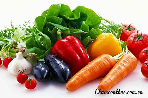 Chế độ ăn nhiều vitamin và chất xơ 1