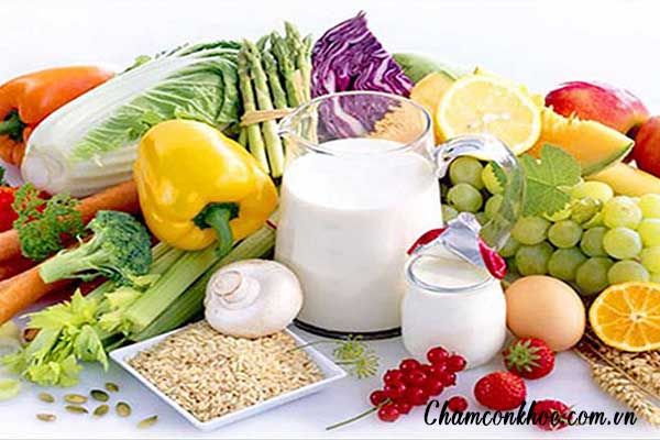 Bổ sung đầy đủ dinh dưỡng 1