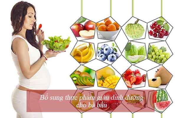 Bổ sung thực phẩm giàu đạm, vitamin 1