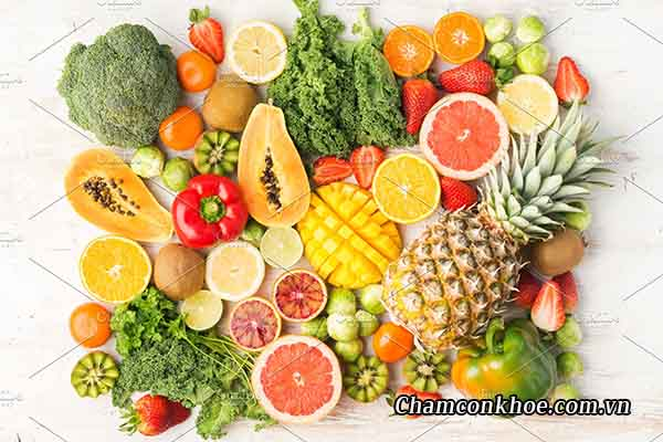 Chế độ ăn thiếu vitamin C 1
