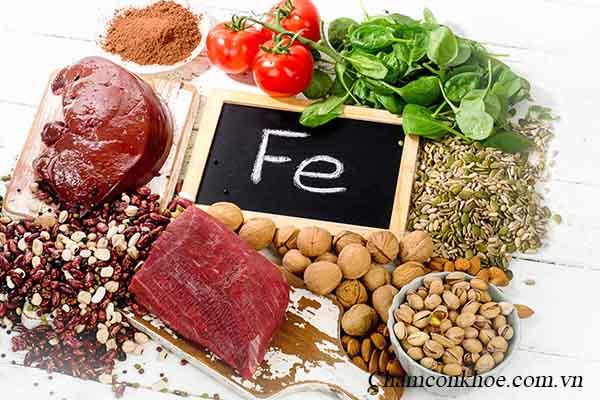 Thực phẩm giàu sắt 1