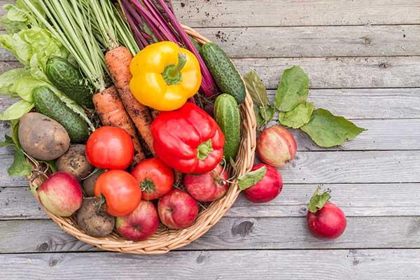 Bổ sung rau củ quả chế độ ăn 1