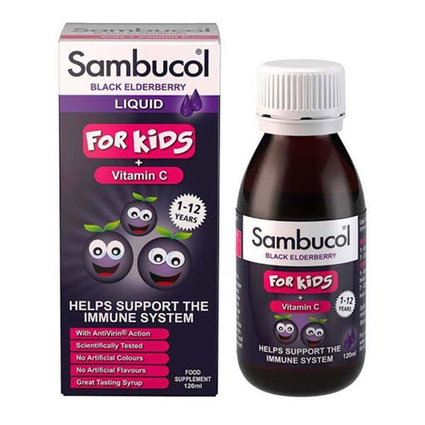 Siro Sambucol for kids 1