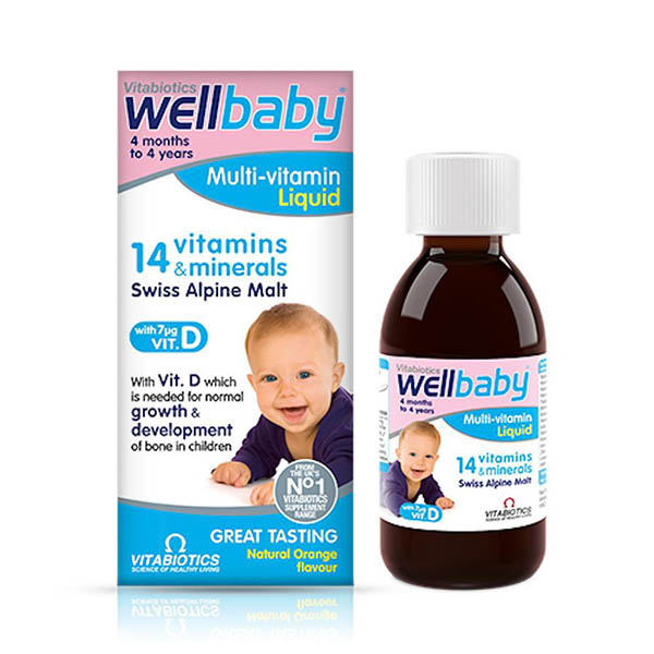 Wellbaby Multivitamin Liquid 1