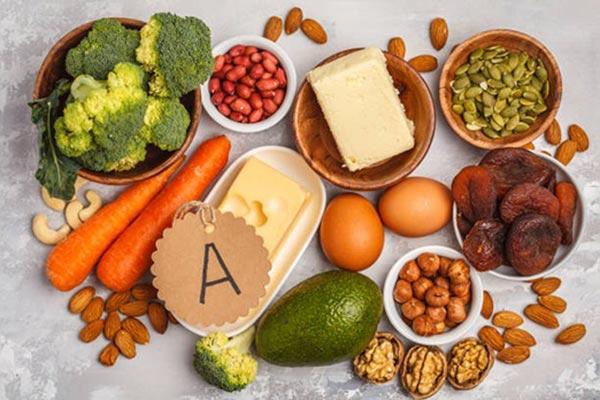Uống vitamin A 1