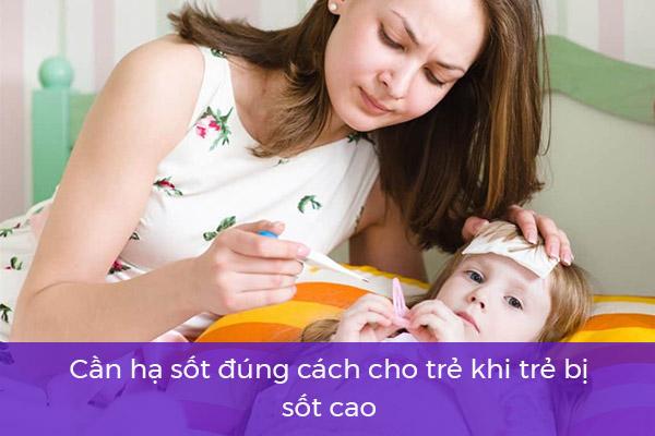 Phương pháp điều trị sốt siêu vi ở trẻ 1